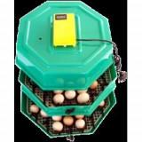 Clocitoare Incubator Cleo 5x2 DT cu dispozitiv de intoarcere si termometru