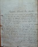 Scrisoare a Presedintelui filialei PNL Botosani catre Dimitrie Sturdza , 1895