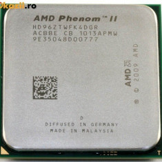 Procesor Quad Core Am3 AMD Phenom II X4 960T 3.4GHZ Turbo 8MB 95W HD96ZTWFK4DGR - Procesor PC AMD, Numar nuclee: 4, Peste 3.0 GHz