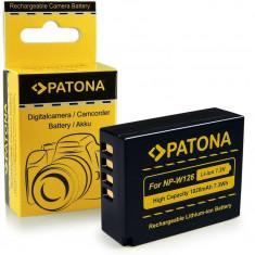 Acumulator pt Fuji NP-W126, HS33 EXR, Finepix -Pro 1, HS30 EXR, marca Patona, - Baterie Aparat foto PATONA, Dedicat