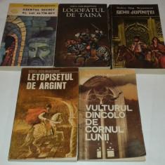 R.O.BRASOVEANU-OCHII JUPANITEI\LOGOFATUL DE TAINA\LETOPISETUL DE ARGIINT+2 carti - Roman istoric