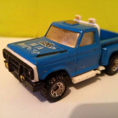 Masinuta fier macheta Matchbox Flareside Pick-up, 1982, 1:76, camioneta - Macheta auto