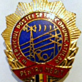 PENTRU MERIT IN SERVICIUL POSTEI SI TELECOMUNICATIILOR 33,4 PE 29 MM FRUNTAS RAR