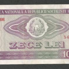ROMANIA 10 LEI 1966 [14] P-94, VF++ - Bancnota romaneasca