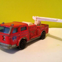 Masinuta fier macheta Masina pompieri Majorette Pompier scara 1/100 Nr. 207, - Macheta auto