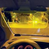Parasolar dublu pentru masina zi/noapte