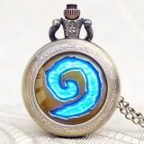 Ceas De Buzunar Retro / Vintage Style - Wow World Of Warcraft / Hearthstone