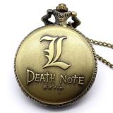 Ceas De Buzunar Retro / Vintage Style - DEATH NOTE