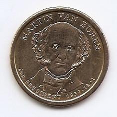 Statele Unite (SUA) 1 Dolar 2008 P - (Martin Van Buren) KM-429, America de Nord