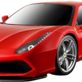 Masinuta Ferrari cu telecomanda, 488 GTB, 56cm, Scala 1:6, Rosie