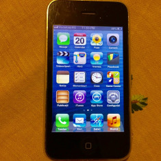 iPhone 3Gs Apple NEVERLOCK 6.1.6, Negru, 8GB, Neblocat