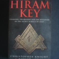 CHRISTOPHER KNIGHT * ROBERT LOMAS - THE HIRAM KEY - Carte masonerie