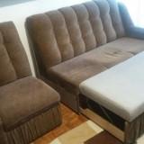 Canapea 3 locuri semi-extensibila