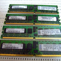 Memorie ram server workstation Infineon 1GB PC2-3200R DDR2-400MHz ECC