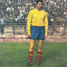 Foto jucatorul Ion Pircalab sezonul`65/`66 (Dinamo Bucuresti, Romania)