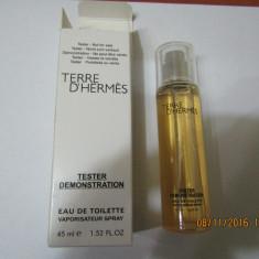 NOU!TESTER 45 ML-TERRE D'HERMES -SUPER PRET, SUPER CALITATE! - Parfum barbati Hermes, Apa de toaleta