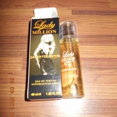 PARFUM 40 ML LADY MILLION --SUPER PRET, SUPER CALITATE! - Parfum femeie Paco Rabanne, Apa de parfum