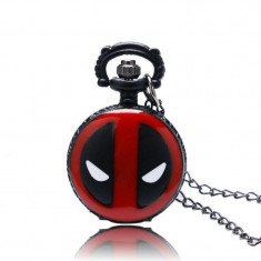 Ceas De Buzunar Mini - MODEL Cool DEADPOOL MARVEL