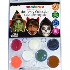 Kit pictura pe fata Scary Clam Snazaroo - Face painting copii