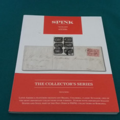 THE COLLECTORS SERIES* SPINK /7 JUNE 2014/ CATALOG LICITAȚIE PLICURI, TIMBRE