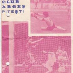 Programul turului diviziei A sezonul 1983/1984 FC ARGES PITESTI - Program meci