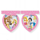 Banner decorativ stegulete plastic PRINCESS & ANIMALS 2.3m