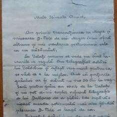 Scrisoare a Lui Eugen Brote, om politic, catre Dimitrie A. Sturdza, 1905 - Autograf