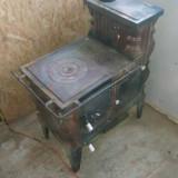 Vand soba teracota cu plita