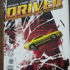 Driver Crossing the line (DC / 2011) benzi desenate comic book / WADDER - Reviste benzi desenate
