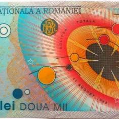 Bancnota 2000 lei (ECLIPSA) - ROMANIA, anul 1999 *cod 201 a.UNC - Bancnota romaneasca