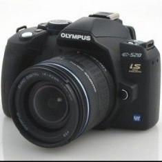 Aparat foto DSLR Olympus E-520 cu obiectiv 40/150mm Super IEFTIN !