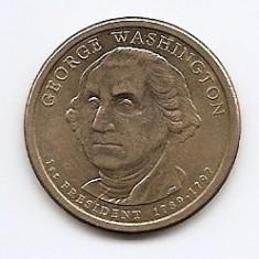 Statele Unite (SUA) 1 Dolar 2007 P - (George Washington) KM-401 (2), America de Nord