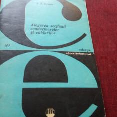 F F KRAPOV - ALEGEREA SECTIUNII CONDUCTOARELOR SI CABLURILOR