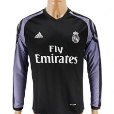 Tricou maneca lunga FC REAL MADRID, 7 ronaldo away - Tricou echipa fotbal, Marime: XL, Culoare: Din imagine, De club