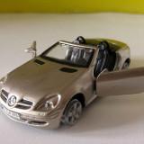 Masinuta fier macheta Maisto Mercedes-Benz SLK, 1/37, silver / gri metalizat