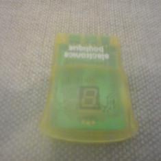 Memory Card PS1 - Card memorie 4 MB