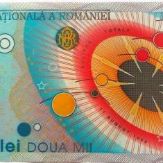 Bancnota 2000 lei (ECLIPSA) - ROMANIA, anul 1999 *cod 200 a.UNC - Bancnota romaneasca