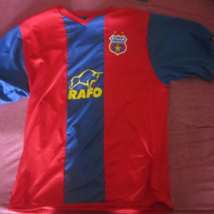 TRICOU STEAUA DE COLECTIONAT - Tricou echipa fotbal, Marime: L, Culoare: Albastru, De club, Steaua Bucuresti, Maneca scurta
