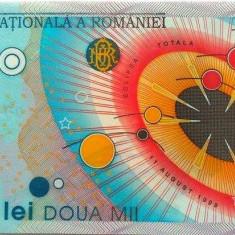 Bancnota 2000 lei (ECLIPSA) - ROMANIA, anul 1999 *cod 204 a.UNC - Bancnota romaneasca