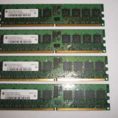 Memorie ram server workstation 512Mb Infineon PC2-3200R DDR2-400 ECC, 400 mhz