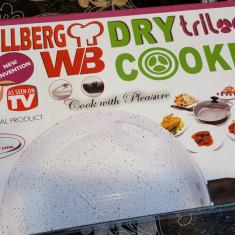 Tigaie Magica Dry Cooker Trilogy din aluminiu placata cu ceramica