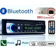 Casetofon auto Bluetooth USB MP3 player Radio telefon telecomanda 4 x 60w - CD Player MP3 auto