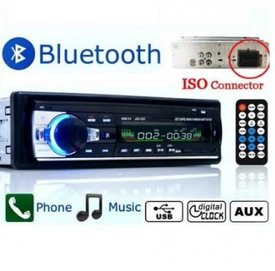Casetofon auto Bluetooth USB MP3 player Radio telefon telecomanda 4 x 60w foto