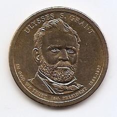 Statele Unite (SUA) 1 Dolar 2011 P - (Ulysses S. Grant) KM-500, America de Nord