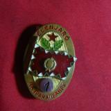 Insigna Lider Echipa Militara cl.I Ungaria, metal si email, h= 4 cm