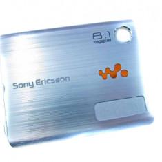Capac Baterie Spate Sony Ericsson W995 Original Swap Albastru