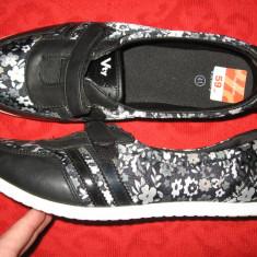 Pantofi Victory sport Mar 40, 5/ 41 - Pantof dama, Culoare: Negru, Textil