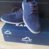 Pantofi piele intoarsa_Super PRET&CALITATE - Pantof barbat, Marime: 42, Culoare: Bleumarin