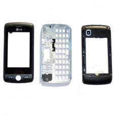 LG GW520 Carcasa Originala 3 piese swap Touch Screen Negru