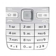 Tastatura Nokia E55 Originala Alba swap - Tastatura telefon mobil